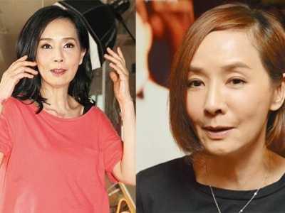 张国荣亲毛舜筠头像 55岁毛舜筠疑整容过度