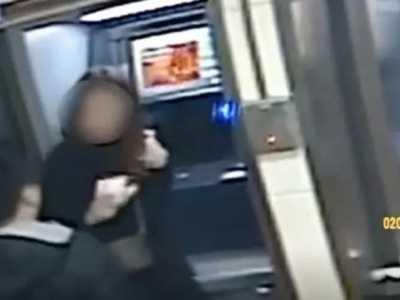 atm抢劫开枪打死女人 看到女子余额后笑退劫款