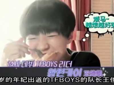 韩国明星眼中的tfboys 韩国综艺节目这样评价王俊凯和TFBOYS
